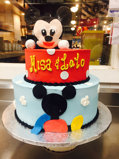 Mandolas Kids Birthday Cake