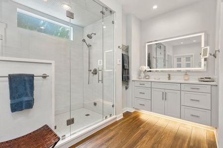 Steam Shower Master Bath Remodel