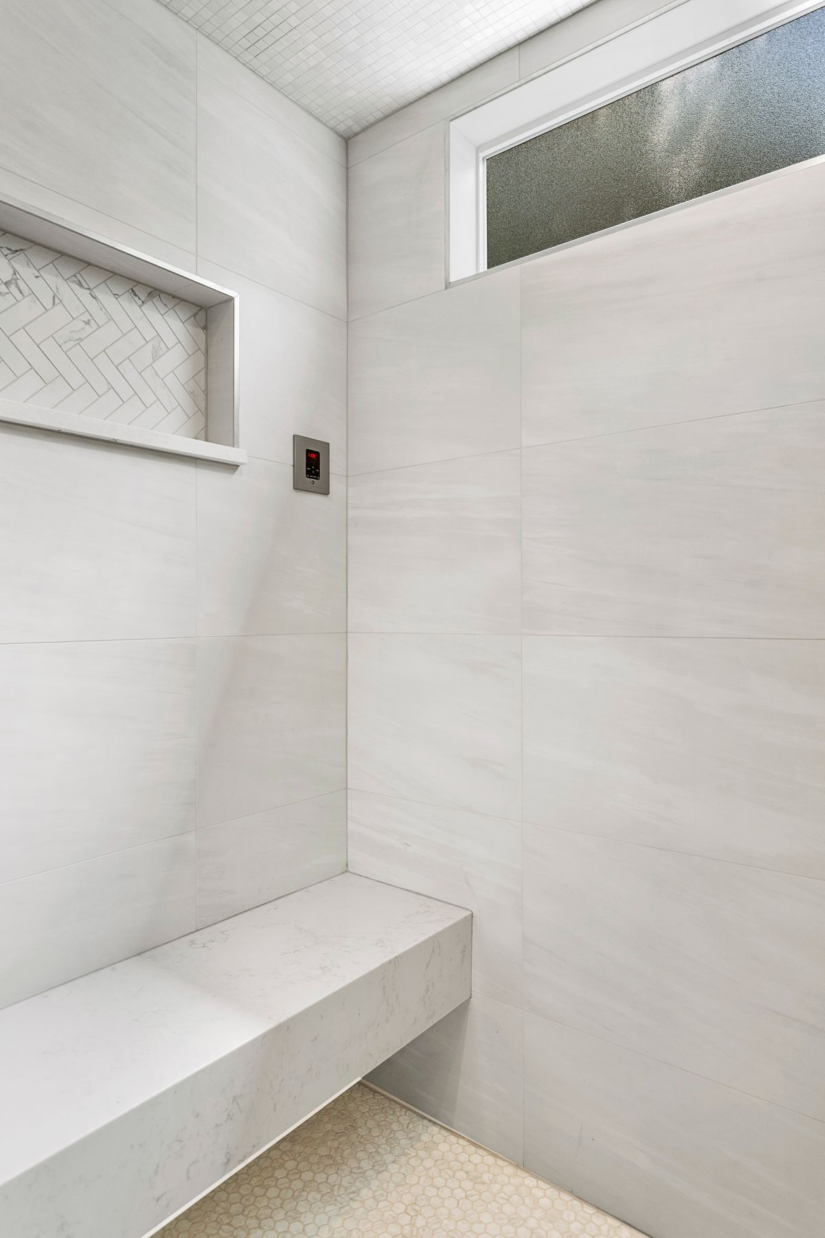 Steam Shower Master Bath Remodel
