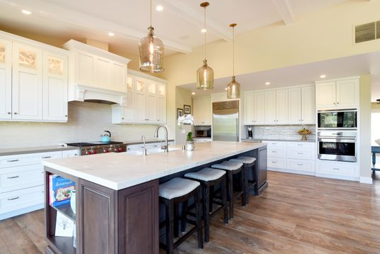 Elegant Transitional Kitchen Remodel