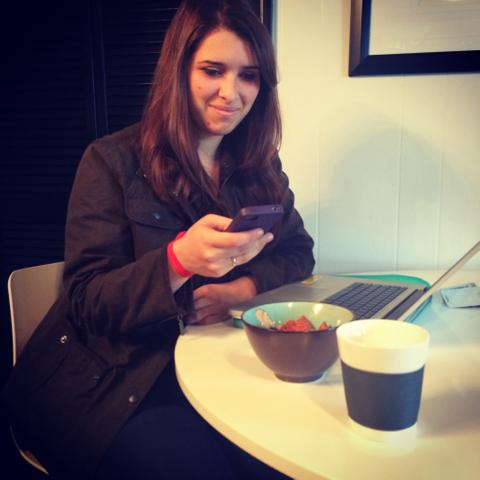 Millennial breakfast selfie.JPG