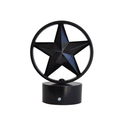 decorative finial 3 inch star