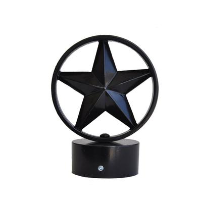 decorative finial 3 inch star
