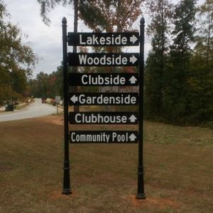 Community Wayfinding Sign