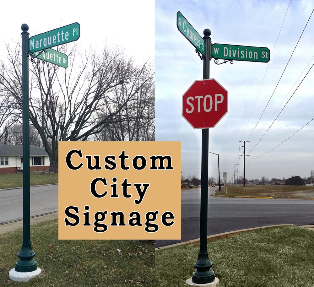 Custom City Street Signs