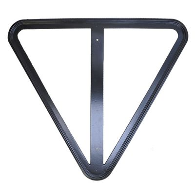 Custom Vintage Street Sign Frame for Yield Sign