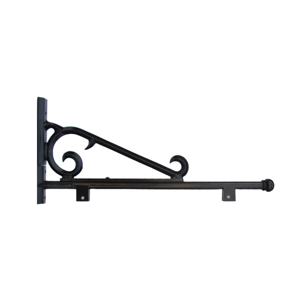 Decorative Sign Post Arm with Scroll