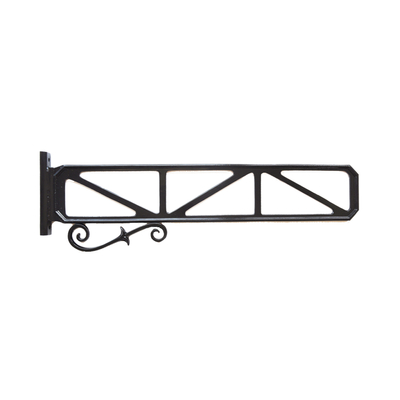 "6"" X 36"" Decorative Street Sign Frame With Scroll"