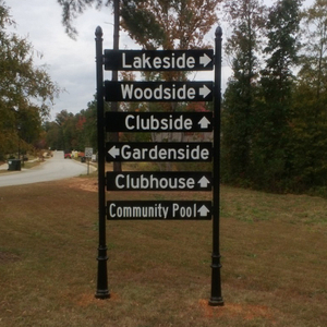 Community Wayfinding Sign