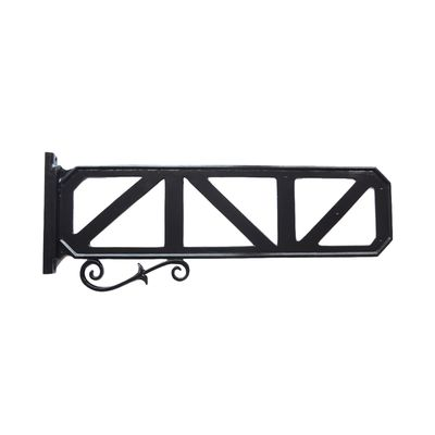 Decorative Street Sign Frame with Scroll