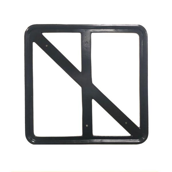 "24"" x 24"" Cast alumimum frame"