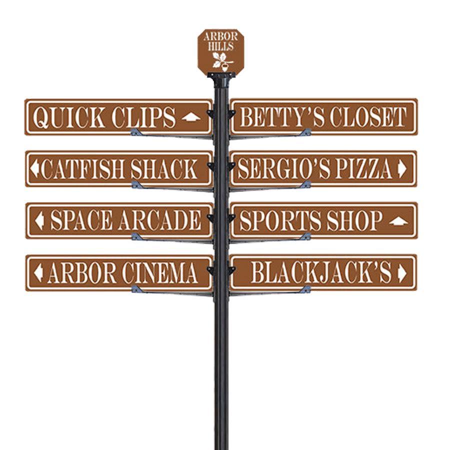 Custom Wayfinding Signs