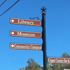 Wayfinding sign examples