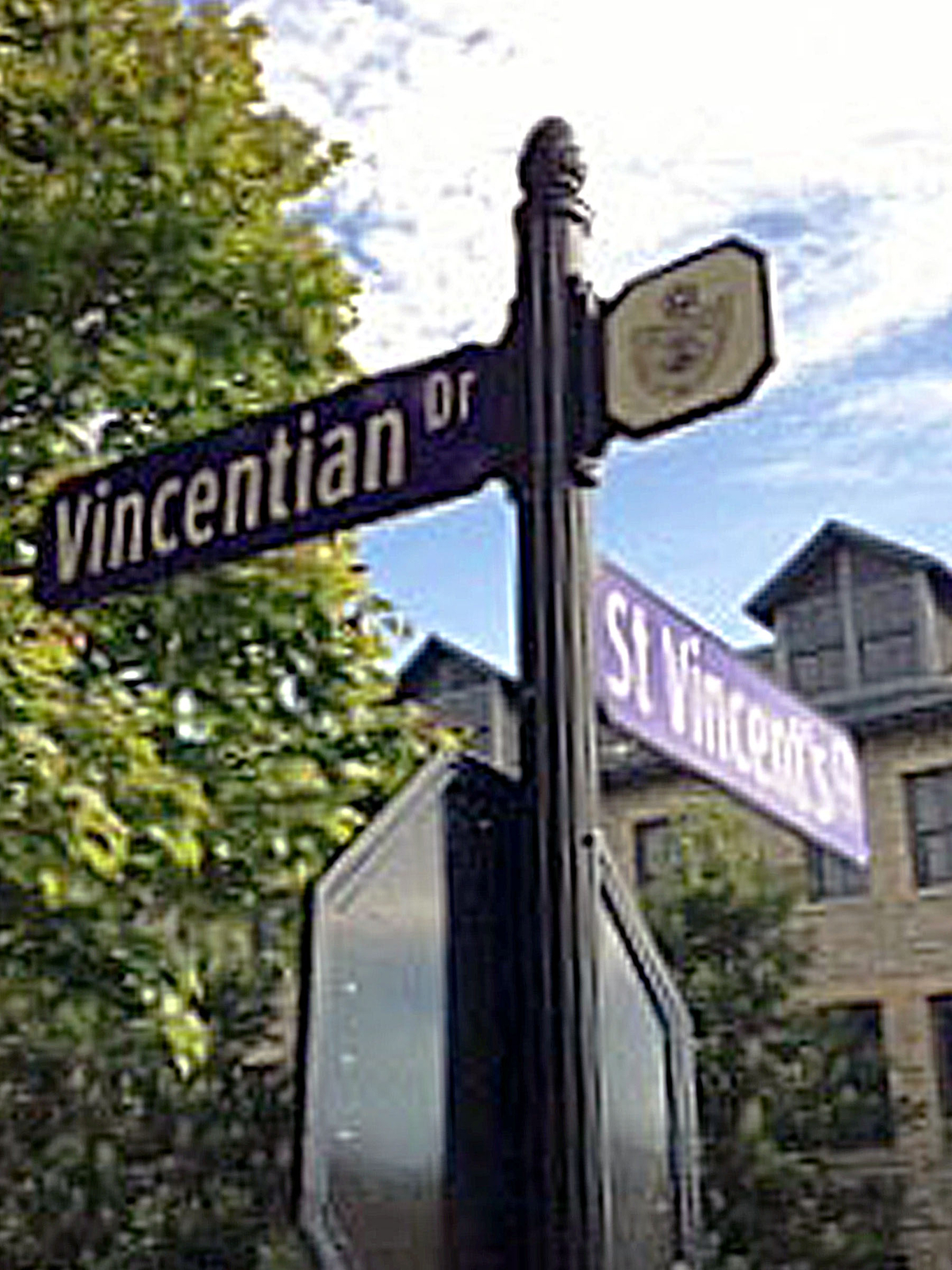 Niagara University Decorative Street Signs