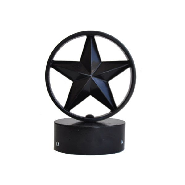 4 Inch Star Finial for Decorative Street Signs