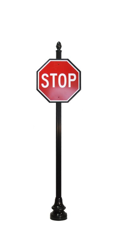 Decorative stop sign