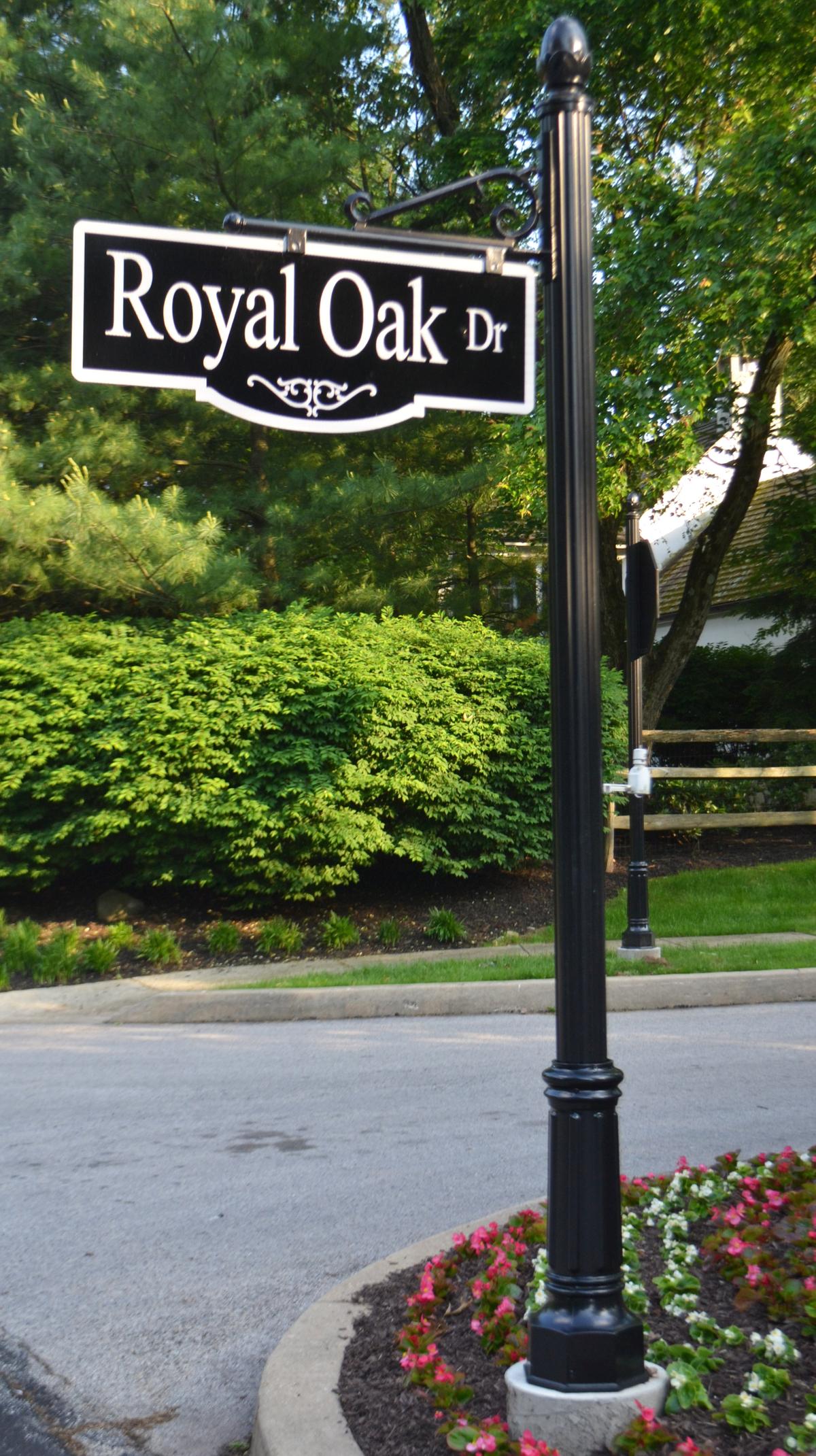 Bluebell Ornamental Street Sign