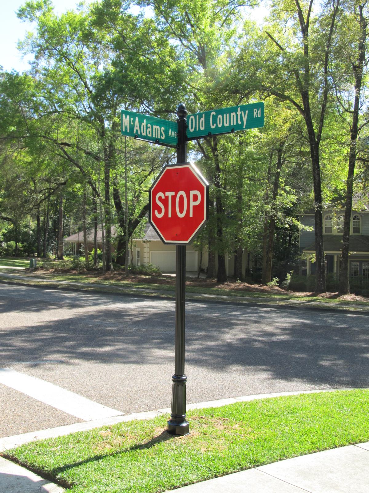 Daphne Alabama Ornamental Street Sign