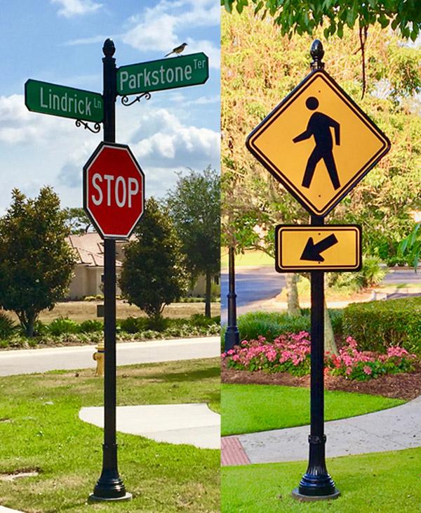 Concessions Golf Club Custom Signs