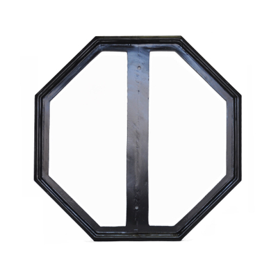 "Ornamental 24"" Stop Sign Frame"