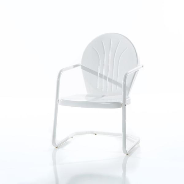 White Motel Chair