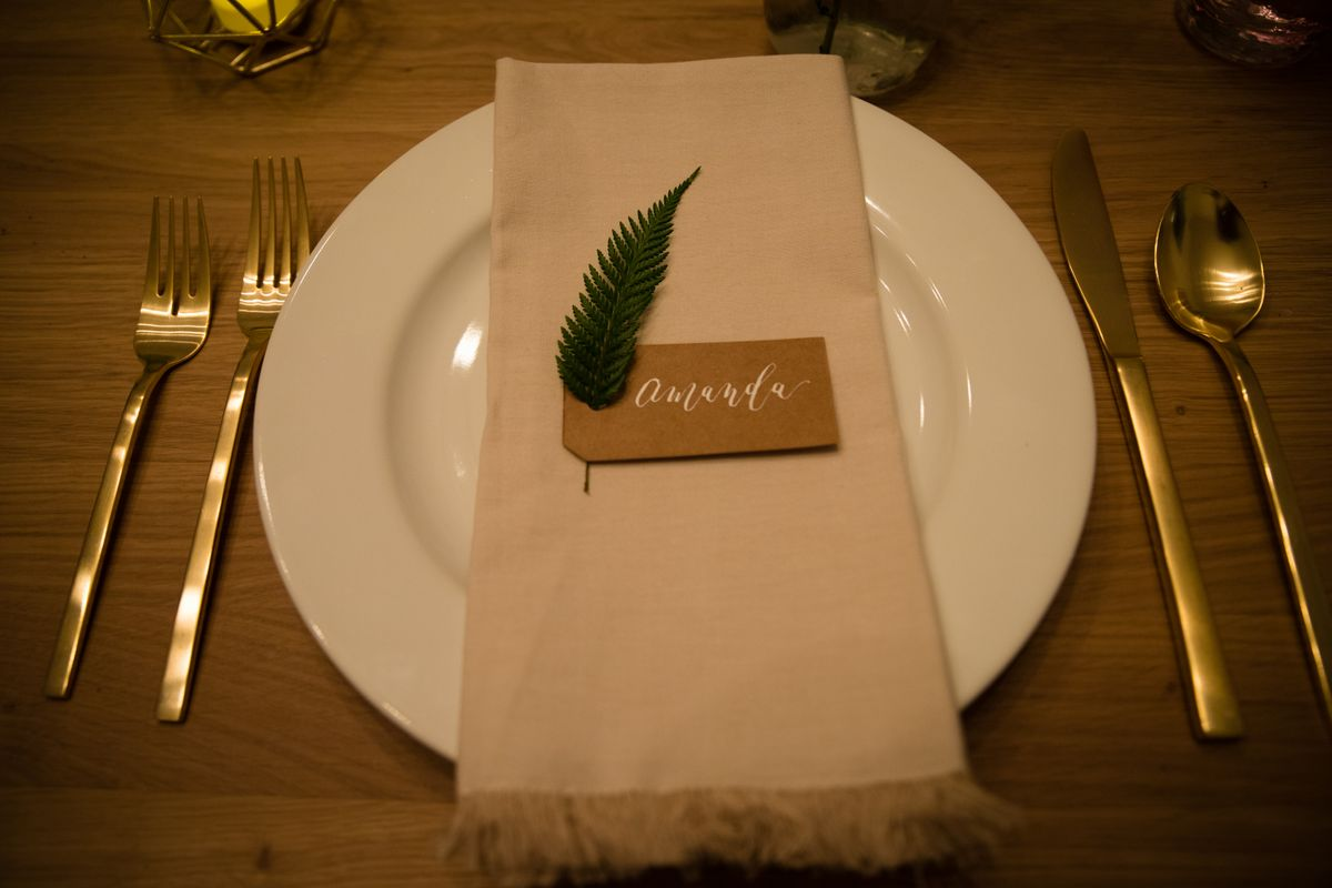 Event Place Settings