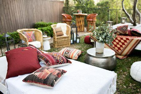 event pillow rentals
