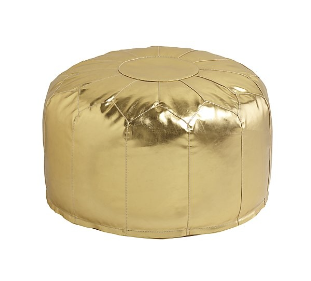Gold Leather Pouf.png