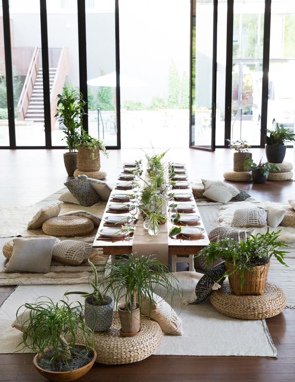 dinner party furniture rentals