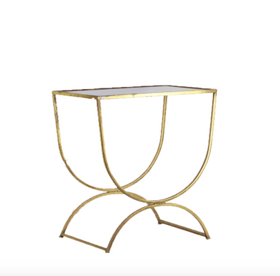 Gold Crescent Side Table.png