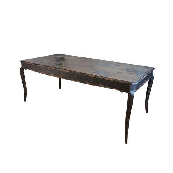 Black Farmhouse Table