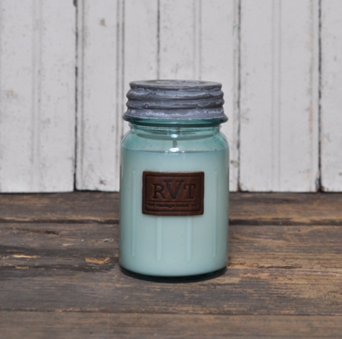 Vintage Round Top Candle