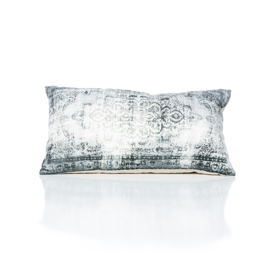 Faded Vintage Grey Pillow
