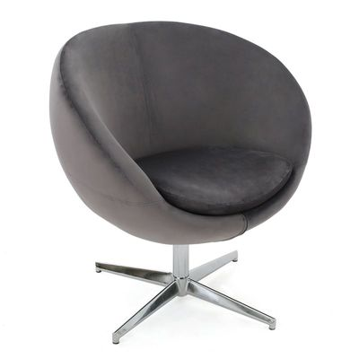 Gray Modern Barrel Chair Rental