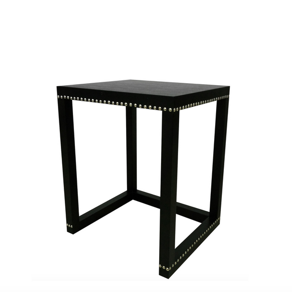 Black and Silver Studded Side Table.png