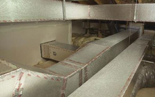 Insulated Ductwork for Attics Kingspan KoolDuct