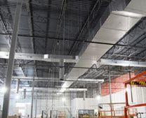 indoor insulated ductwork