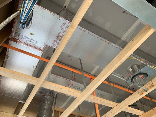 Interior UL Listed Duct System