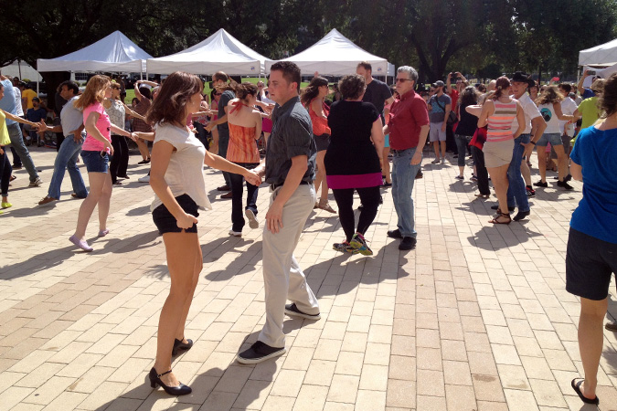 Dancing at Market.JPG
