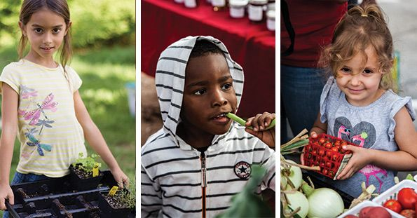 Kids with Local Food