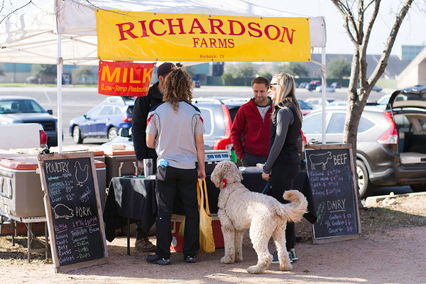 Richardson Farms at SFC Farmers Market at Sunset Valley