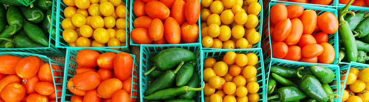 Tomato Pepper Baskets
