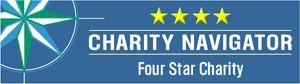 Charity Navigator 4-stars