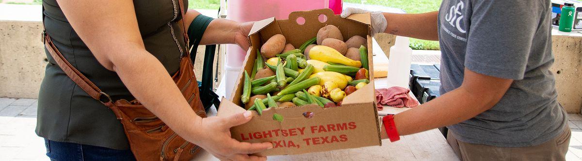 Passing Produce Box