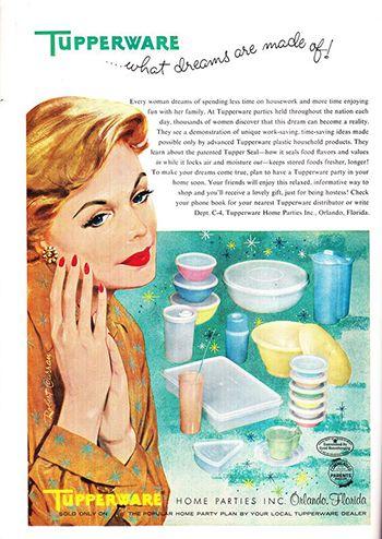 Tupperware Ad 1959
