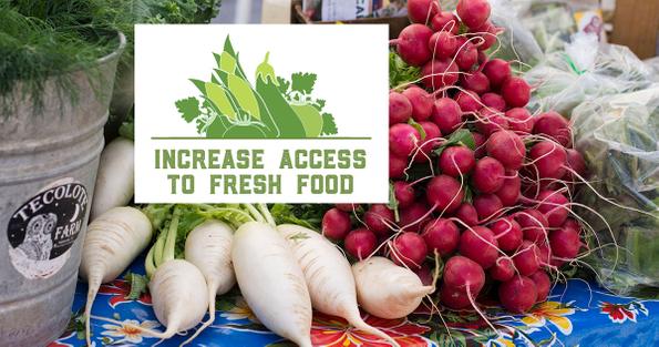 2018 Farmers Market Week - Access to Fresh Food
