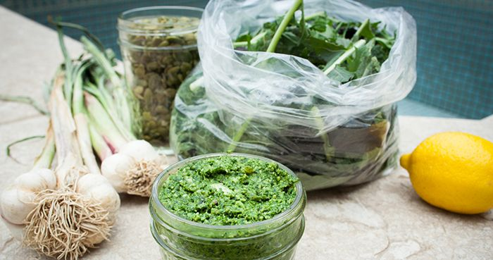 Any Green Pesto