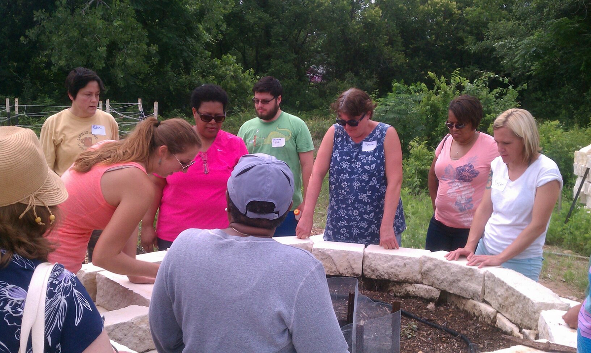 Water Conservation Class_compost keyhole drip bed.jpg