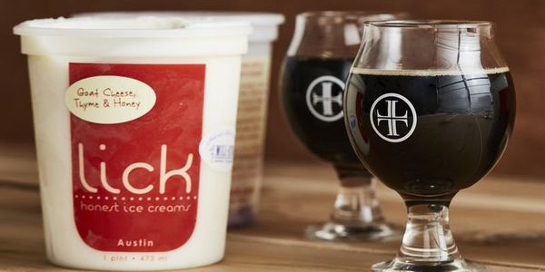 Lick Ice Cream Beer Pairing