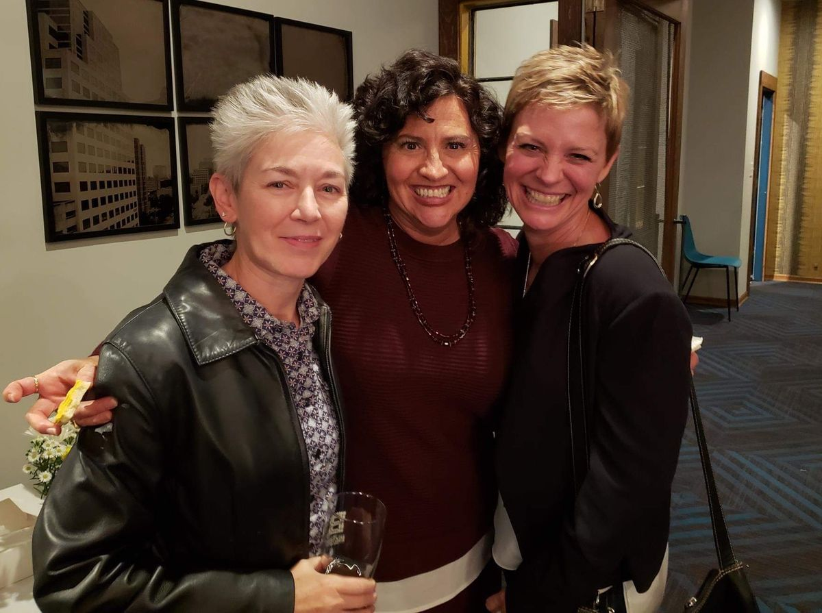 Ronda, Joyce and Rhonda